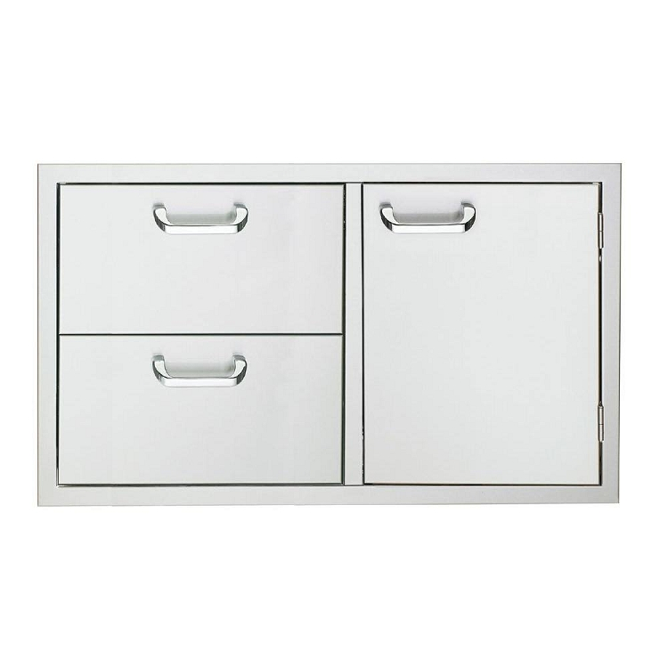 Sedona 36 Inch Double Drawer and Access Door Combo