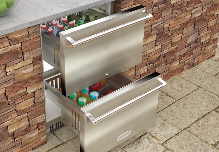 Marvel 24 Quot Outdoor Refrigerated Drawers