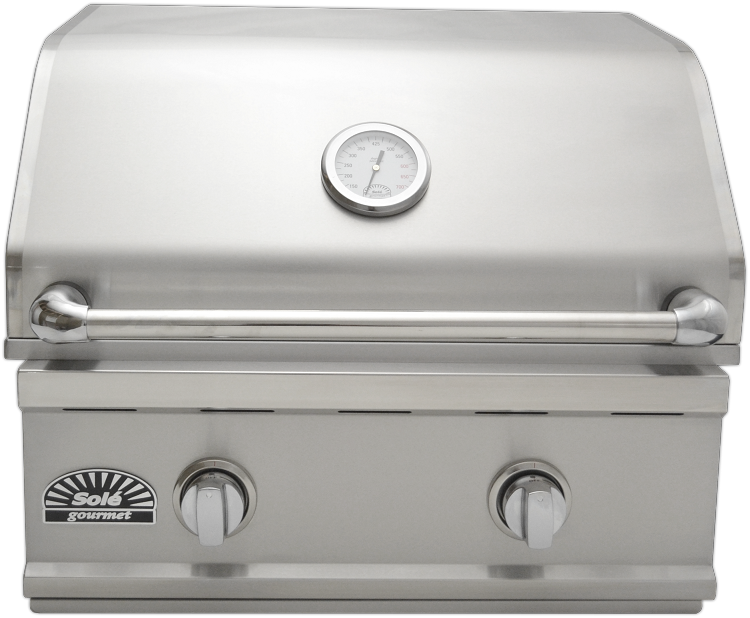 Sole 26 Inch Luxury TR Natural Gas Grill