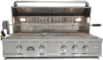 Sole 42 Inch Luxury Grill with Lights and Rotisserie - LP