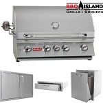Bull Outdoor Angus BBQ Grill and Accessories Package - Propane