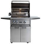 Lynx 27 Inch Professional Natural Gas Grill w/Trident Burner and Rotisserie on Cart