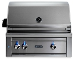 Lynx 30 Inch Professional Natural Gas Grill w/ Trident Burner and Rotisserie