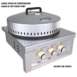 "Sunstone 24"" Power Cirque Burner"