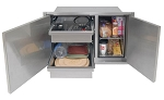 Alfresco 30-inch Dry Storage Pantry - Low Profile Unit