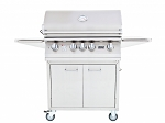Lion L75000 32 Inch Premium Natural Gas Grill On Cart