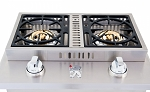 Lion Double Side Burner - Natural Gas