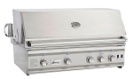 Summerset TRL 38 Inch Natural Gas Grill with Rotisserie and Lights