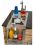 Alfresco 14-inch Versa Sink and Beverage Center