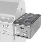 Alfresco 14-inch Food Warmer on Cart