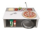 Alfresco Pizza Prep Cart