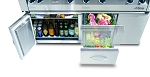 Alfresco Refrigerator for 56-inch Grill Cart