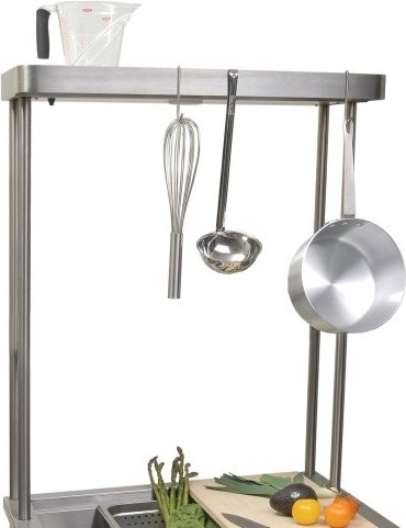 Alfresco Pot Rack with Light for 30-inch Versa Sink