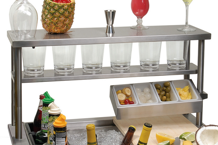 Alfresco Serving Shelf with Light for 30-inch Versa Sink
