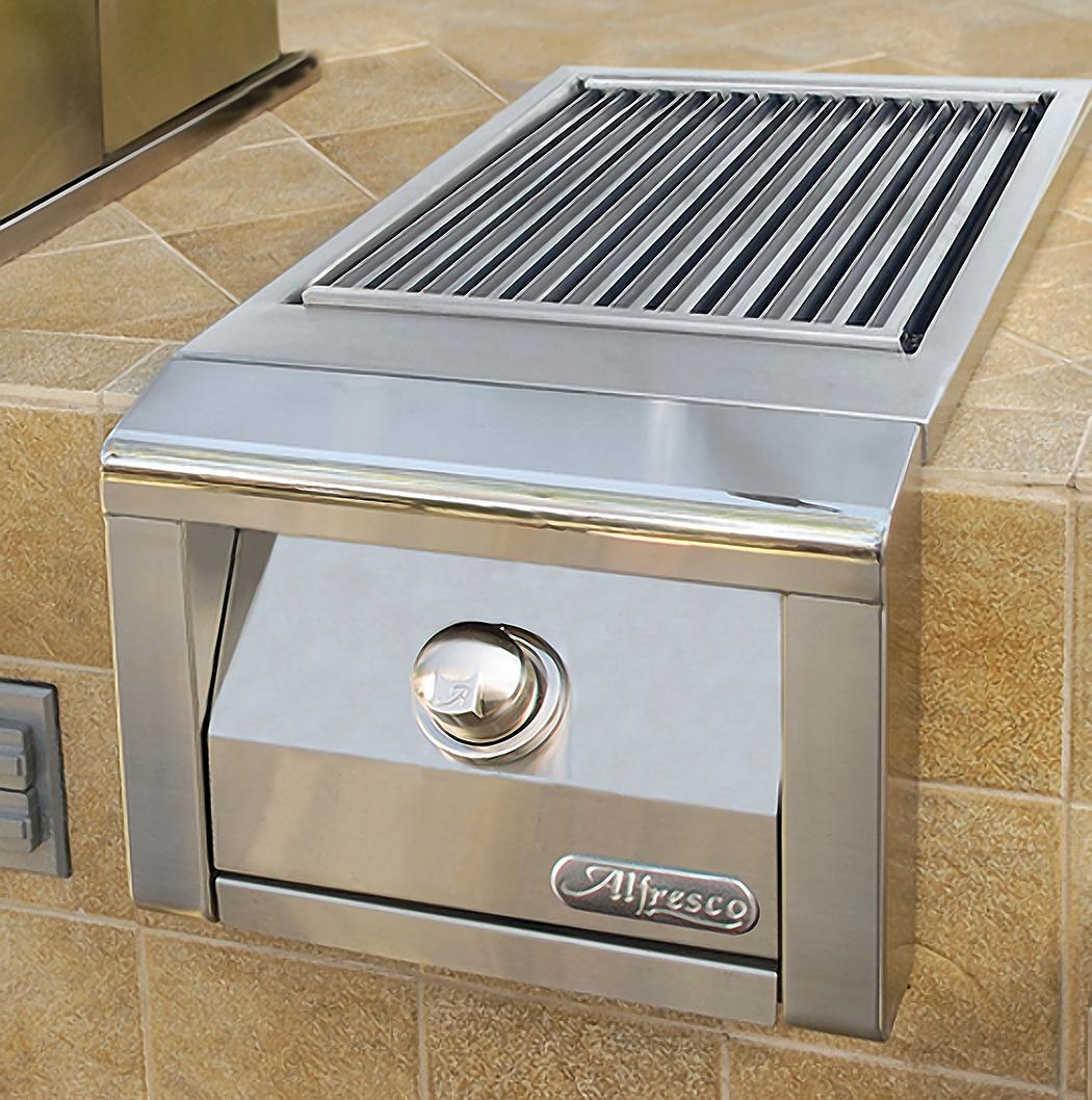Alfresco 14-inch Standalone SearZone Natural Gas Side Burner