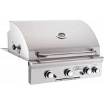 American Outdoor Grill 30 Inch Natural Gas Grill with Rotisserie and Backburner