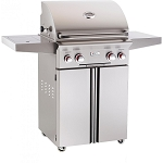 AOG 24 Inch Natural Gas Grill On Cart