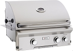 AOG 24 Inch Natural Gas Grill w/ Lights and Rotisserie