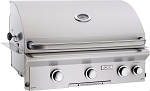 AOG 30 Inch Natural Gas Grill w/ Lights and Rotisserie