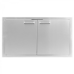 BBQ Island 36 x 19 Inch Double Access Door - 350H Series