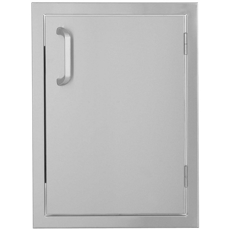 Bbq island 260 series 17 x 24 right hinged vertical for Acces vertical