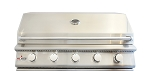 BBQ Island 40 Inch 5 Burner Natural Gas Grill