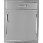 BBQ Island 260 Series - 21 Inch Single Door w/4 Inch Drawer Combo