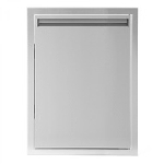 BBQ Island 350 Series  - 17x24 Single Access Verticle Door