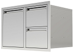 BBQ Island 350 - 42 Inch Single Door with 2 Drawers Combo