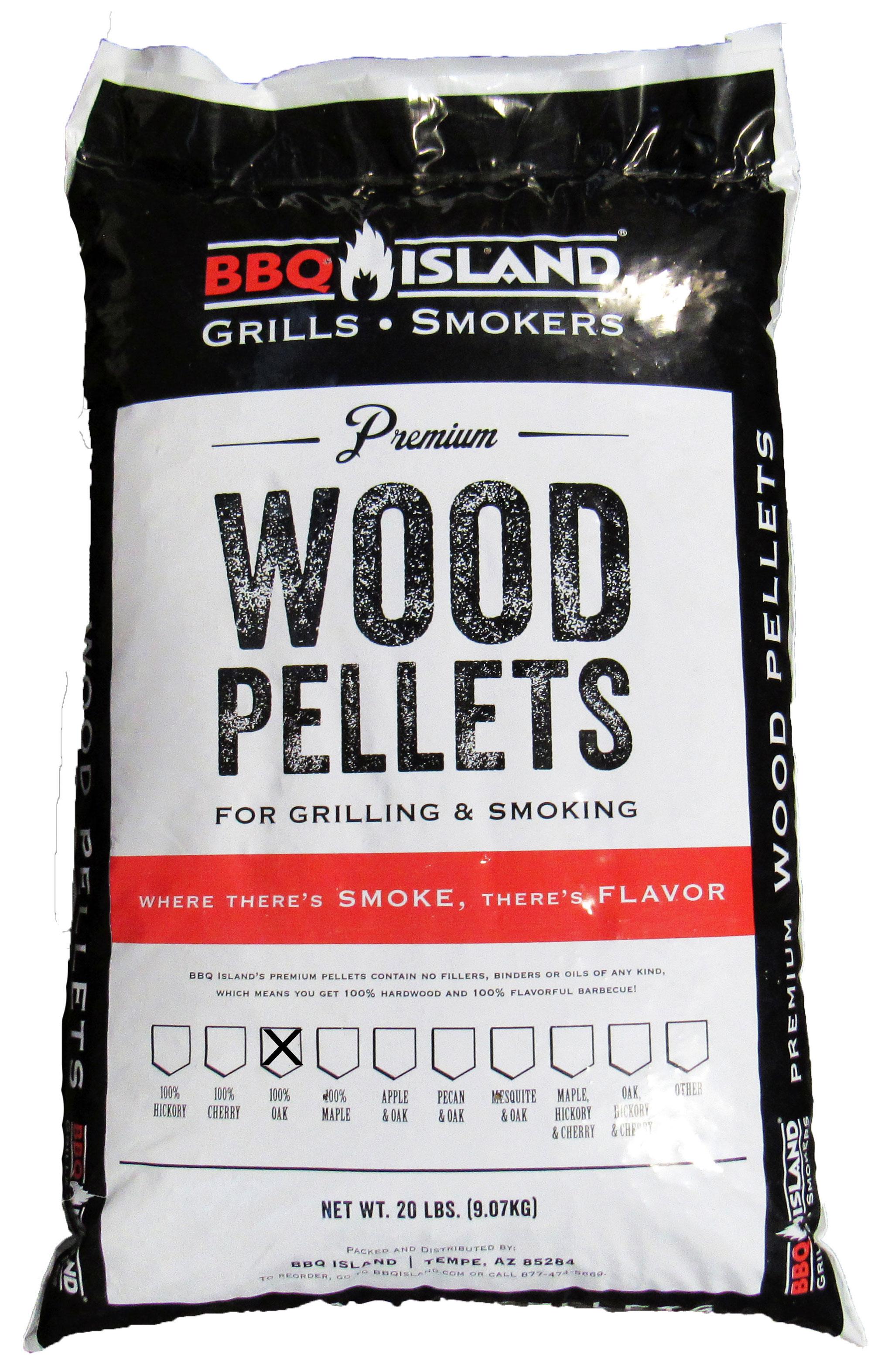 BBQ Island 100% Oak Wood Pellets