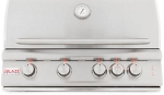 Blaze LTE 32 Inch 4-Burner Propane Grill With Rear Burner and Lights