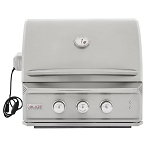 Blaze Professional 27-Inch 2 Burner Built-In Natural Gas Grill With Rear Infrared Burner