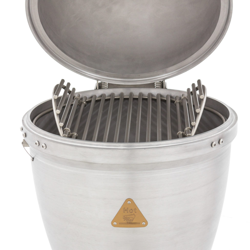 Blaze 20 Inch Cast Aluminum Kamado Grill