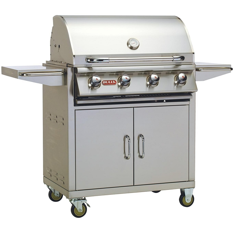 Bull Outlaw 30 Inch Propane Gas Grill on Cart