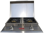 Bull Propane Double Side Burner
