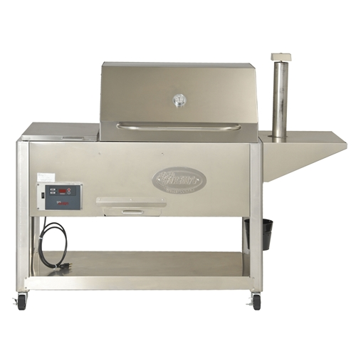 Fast Eddy's PG1000 Pellet Grill by Cookshack