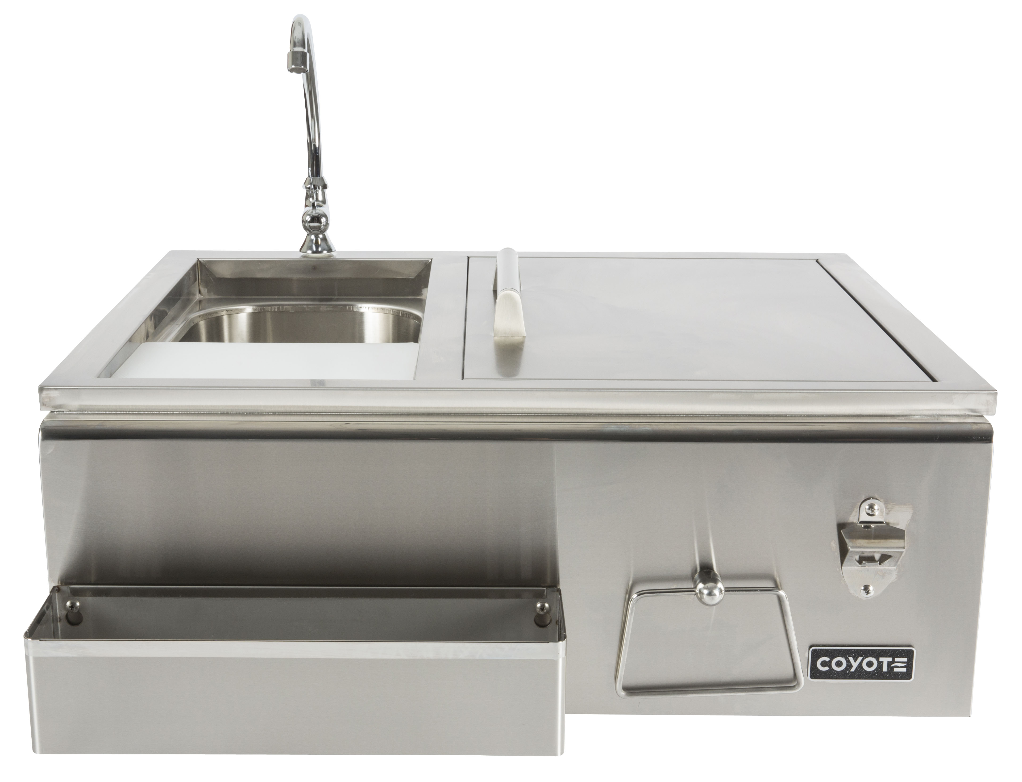 Coyote refreshment center for Coyote outdoor grill reviews
