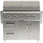 Coyote C-Series 42 Inch On Cart Propane Grill