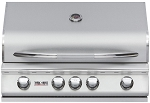 Delsol 32 Inch Natural Gas Grill with Rotisserie Burner