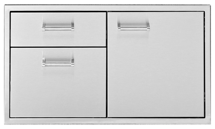 Delta Heat 36 Inch Door and Two Drawer Combo