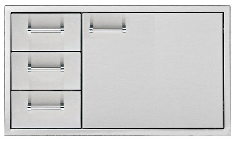 Delta Heat 36 Inch Door and Three Drawer Combo