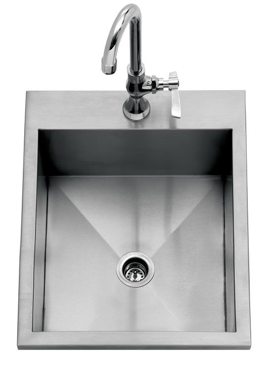 Delta Heat 15 Inch Drop In Sink
