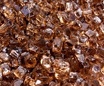 Copper Fire Glass 1/4 Inch - 10lbs