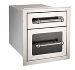 Fire Magic Black Diamond Double Drawer