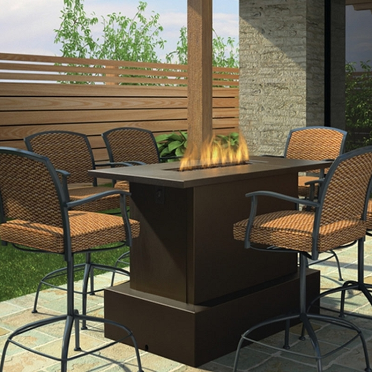 Tap to expand & Key West Fire Pit Table - Bar Height