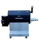 Jim Bowie Custom BBQ Island Comp Cart