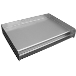 Sizzle-Q180 Stainless Steel Griddle 18 x 13 x 3