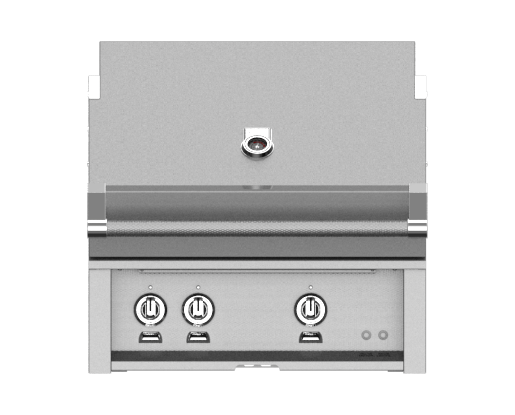 Hestan 30 Inch Natural Gas Grill, 2 Sear Burner