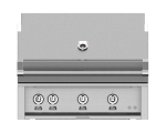Hestan 36 Inch Natural Gas Grill, 3 Sear Burner