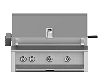 Hestan Aspire 36 Inch Natural Gas Grill, 2 (U) Burner 1 Sear Burner with Rotisserie